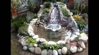Фонтаны и водопады на даче своими руками-легко! Фото подборка