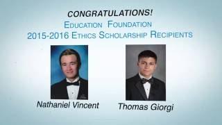 BBB 2016 Scholarship