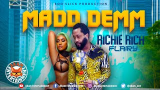 Richie Rich Flairy - Madd Demm [Audio Visualizer]