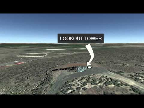 Animated map of Malheur National Wildlife Refuge occupation by militants
