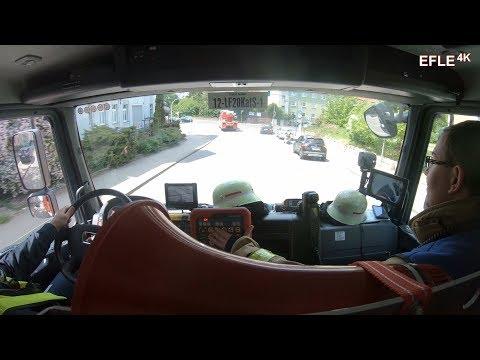 [Stadt/Land/Pressluft] Einsatzfahrt im neuen LF 20-KatS FF Aachen-Nord mit dauerhaften Hornwechsel