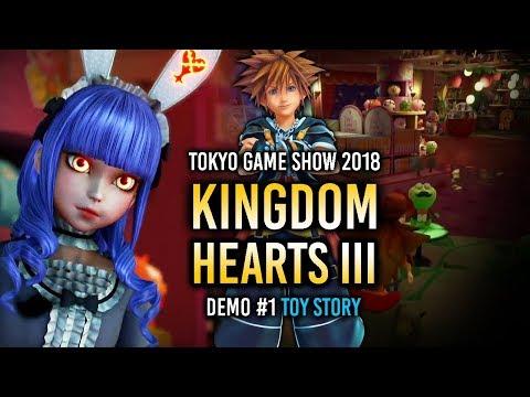 KINGDOM HEARTS III | Demo del TGS Parte 1: ¡TOY STORY! :D [Gameplay comentado]
