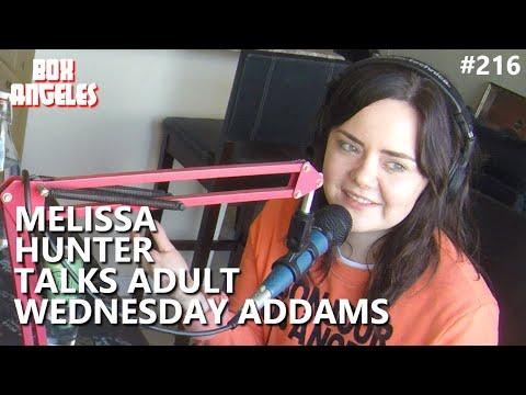 Melissa Hunter Talks 'Adult Wednesday Addams'