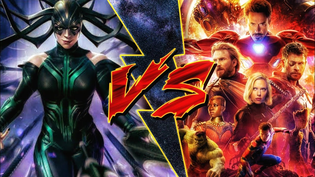 Hela vs Avengers in Hindi (SUPERBATTLE)
