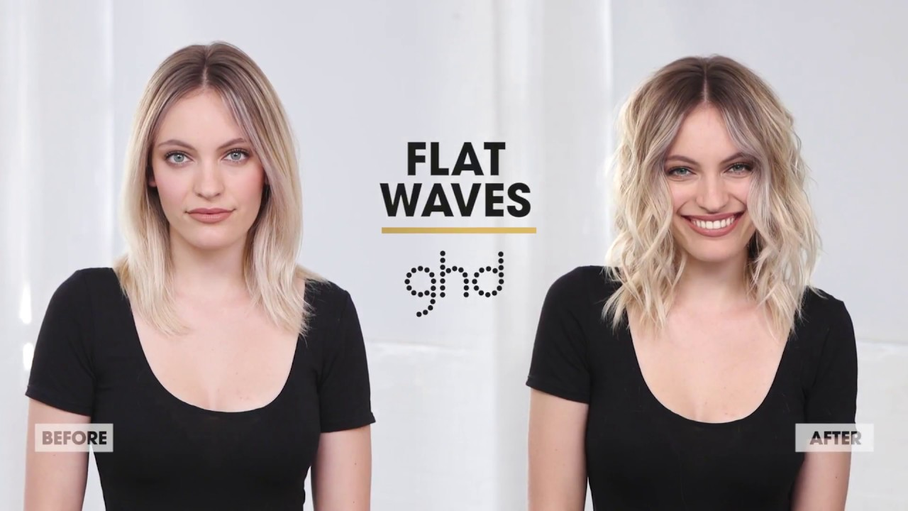 Flat Waves Ghd Techniques Youtube