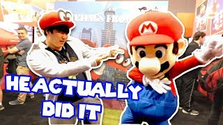DUMB STUFF with MARIO - SMG4 @ PAX 2017