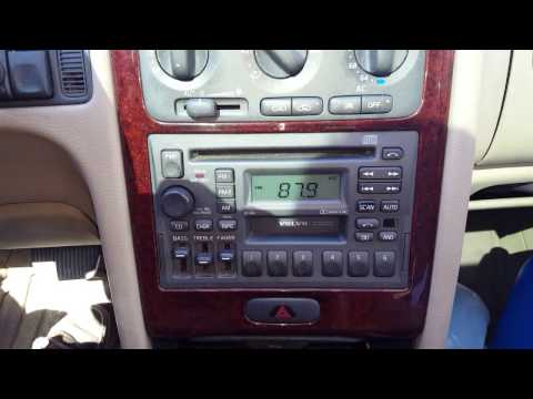 1992-2000 Volvo P80 (850, S70, V70, C70): Factory stereo displays