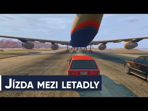 Závodíme s Lůkem v Grand Theft Auto: EfLC a je to jízda mezi letadly thumbnail