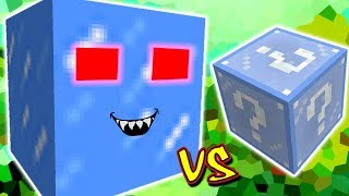 BLOCO DE GELO GIGANTE MALVADO VS. LUCKY BLOCK FROSTY (MINECRAFT LUCKY BLOCK CHALLENGE)
