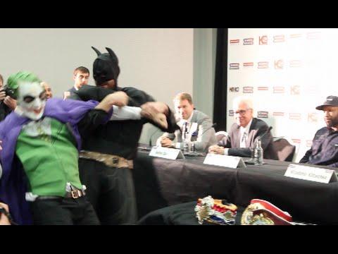 Titolo pesi massimi: Wladimir Klitschko sfidato da… Batman!