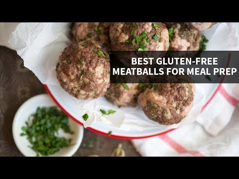 THE BEST GLUTEN-FREE MEATBALLS | make meal prep simple