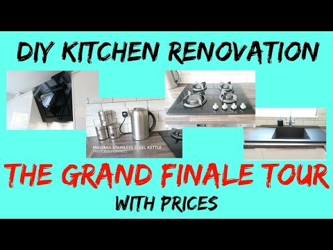 DIY Kitchen Renovation | The GRAND FINALE Tour With Prices
