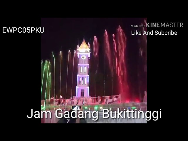 Wajah Baru Jam Gadang #Bukittinggi #MinangTourism  #wisataSumbar #wonderfullindonesia