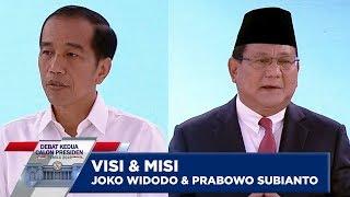 Download Video VISI MISI JOKO WIDODO & PRABOWO SUBIANTO - Debat Capres Kedua PART 1 MP3 3GP MP4
