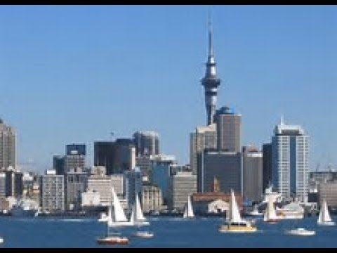 Auckland City Tour New Zealand In Ultra 4k