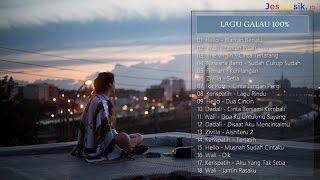 Gambar cover 18 Hits Lagu Galau Terbaru 2017 Terpopuler (Lagu Galau 100% Full)