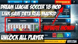Dream League Soccer Mod Versi 5.063 [Link Download Save Data Real Madrid]