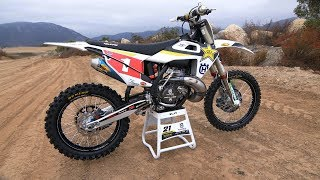 Motocross Action tests Jason Anderson's Factory 250 2 Stroke