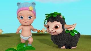 Baa Baa Black Sheep Baby Cartoon Video | Rhymes & Baby Song | Infobells