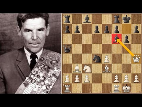 The Greatest Queen Sacrifice in Chess History