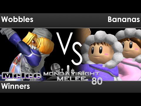 MNM 80 - PG FX   Wobbles (Sheik, C Falcon) vs SWG   Bananas (ICs) Winners - Melee