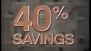 1986 Gold Circle Store Commercial