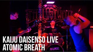 Atomic Breath - Kaiju Daisenso LIVE at The Lost Well - Austin, TX