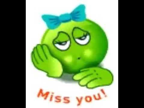 I miss you emoji