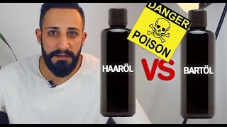 HAARÖL VS BARTÖL - Schädliche Stoffe in Haarölen | BARTMANN