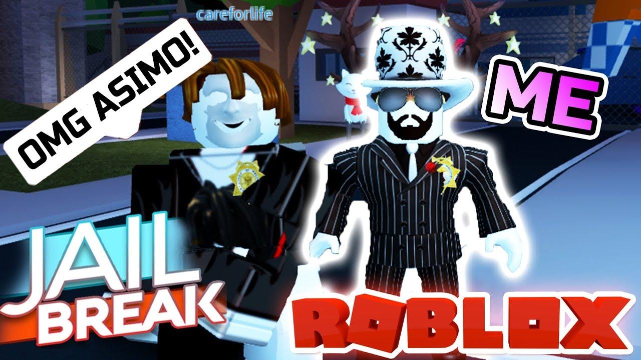 For Asimo3089 Roblox Trolling As Asimo3089 The Creator In Jailbreak Roblox Youtube
