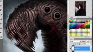 Painting of Devourment Maggot (Fan Art) Two