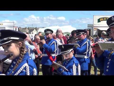 2017 - Brookeborough Flute Band at Rossnowlagh Orange Walk