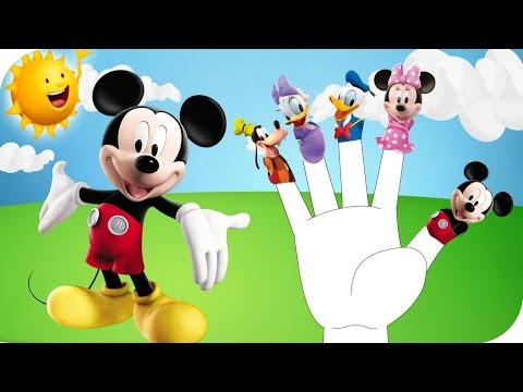 ♪ Finger Family Mickey Mouse Clubhouse ♪ Nursery Rhymes For Children ♪ Kids Songs ♪