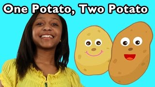 One Potato, Two Potato | Nursery Rhymes from Mother Goose Club!