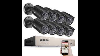 Распаковка комплекта видеонаблюдения ZOSI на 8 камер. Комплект видеонаблюдения на 8 камер. ZOSI(, 2017-12-28T16:35:06.000Z)