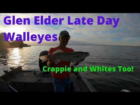 Glen Elder Consistent Till 7:00 Then FIRE Till Dark Kansas Fishing