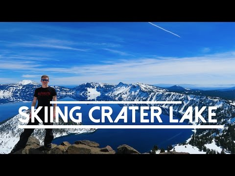 Skiing Crater Lake | Oregon, USA