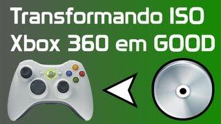 CONVERTENDO ISO DE XBOX 360 EM GOD PARA RGH- CONVERTENDO JOGOS PARA RGH/JTAG