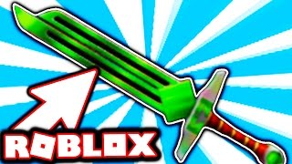 I UNBOXED THE NEW EXOTIC KNIFE!!! (Roblox Assassin)