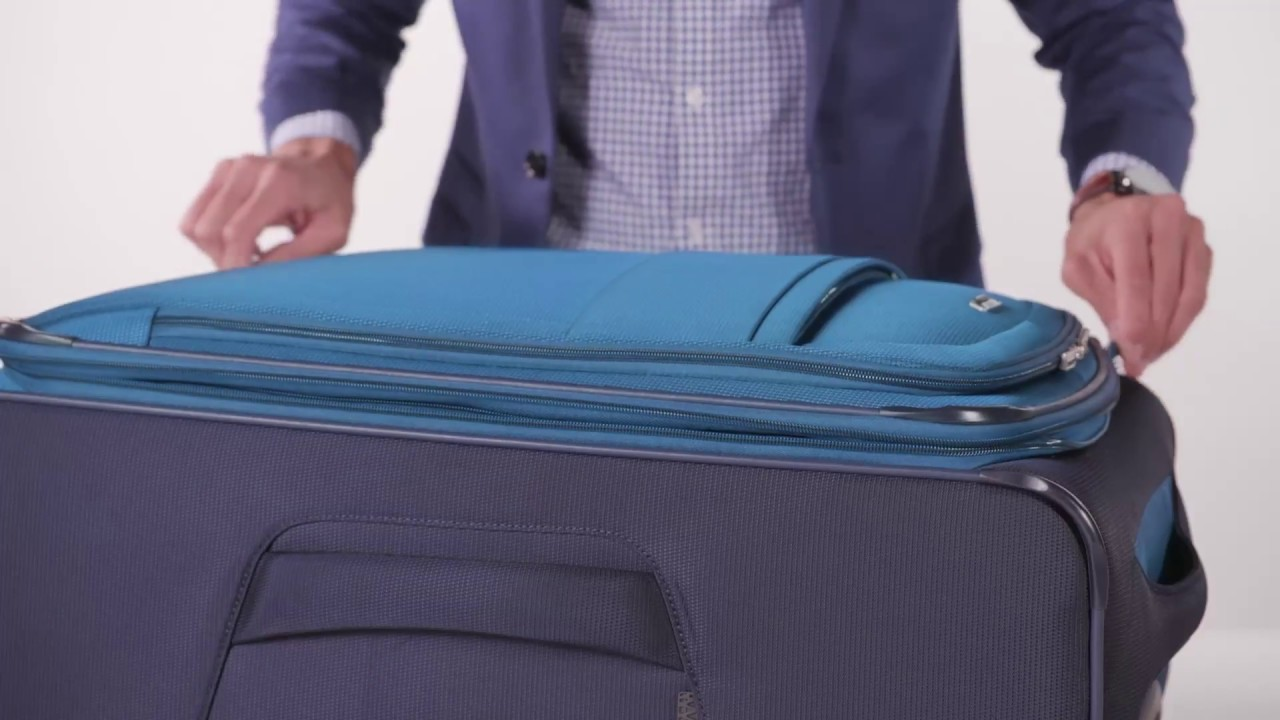 6b04dfd1a85 A Luggage Collection That s Better for the Earth - YouTube
