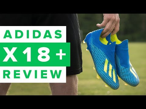 ADIDAS X18+ REVIEW - X is now laceless!
