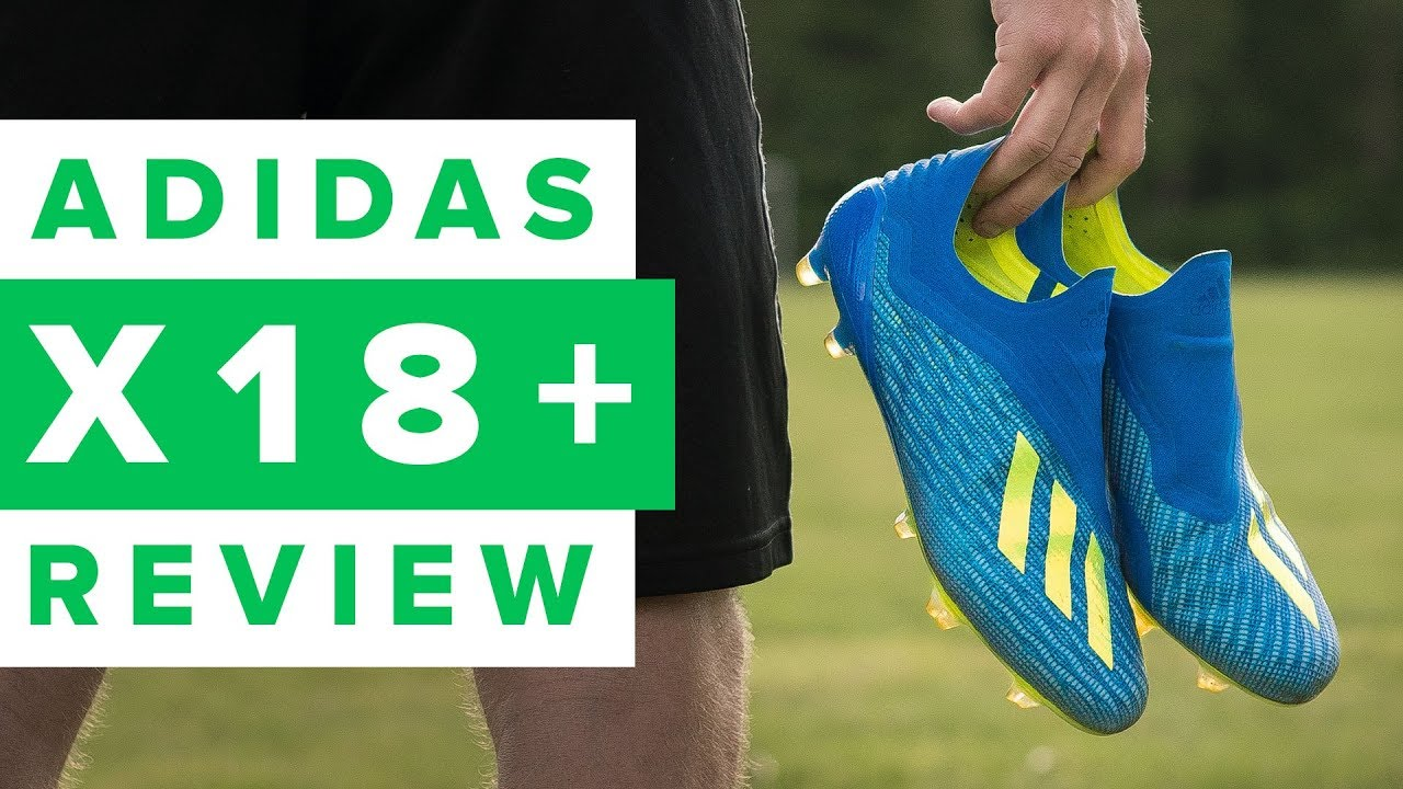 ADIDAS X18+ REVIEW – X is now laceless!