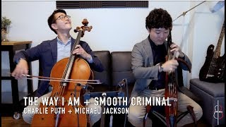 THE WAY I AM + SMOOTH CRIMINAL | Charlie Puth + Michael Jackson || JHMJams Cover No.243