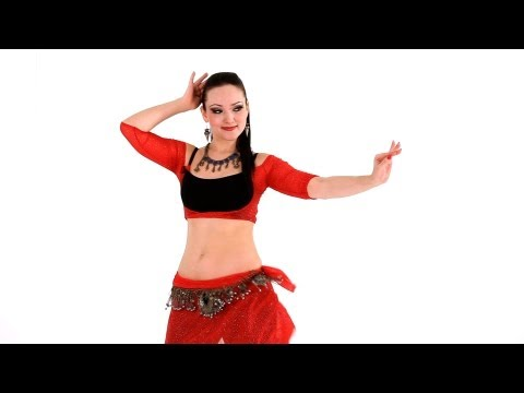 How to Do Hip Locks with Undulations | Belly Dance