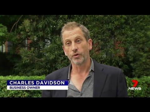 Australian Charles Davidson deported from US for having Iranian visa in passport