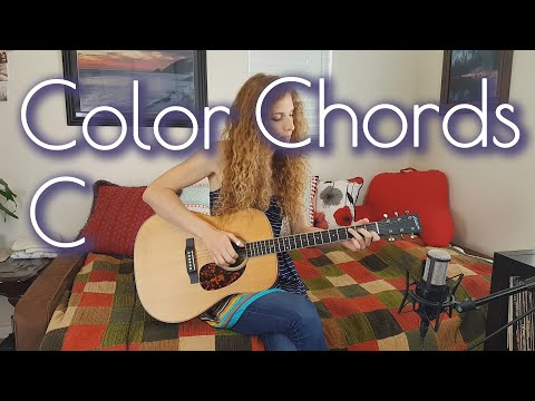 Coloring in the Open Chords | Key of C | Fingerstyle Guitar Lesson