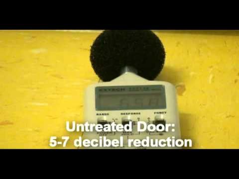 & Acoustic Door Seals: Before and After Demonstration - YouTube pezcame.com