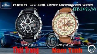 Review Đồng Hồ Chính Hng Casio Edifice EFR-549L-7AVUDF [dongho24h.com]