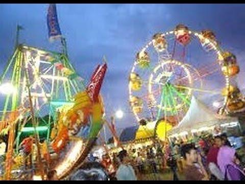 SEKATEN Pasar Malam - Kraton Yogyakarta - Night Carnival [HD]