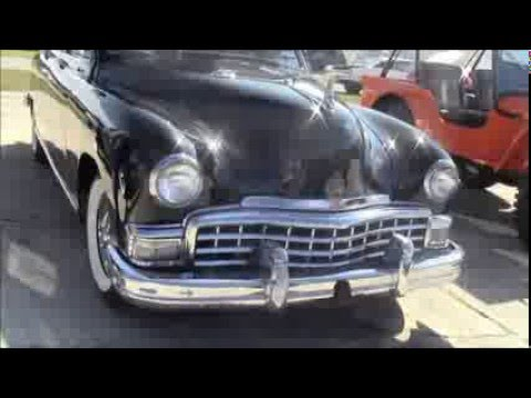 1949 Frazer Manhattan Four Door Sedan Blk LakelandLinder11315
